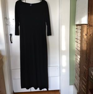 GAP Dresses - black maxi dress